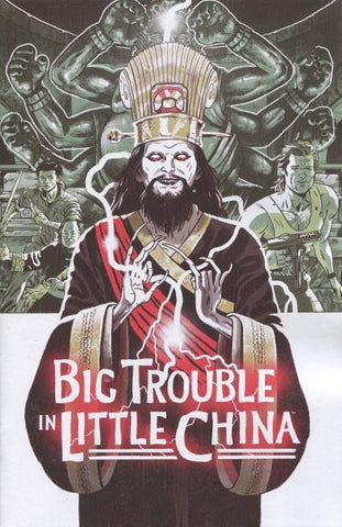 Big Trouble in Little China : Old Man Jack #1 1:5 Variant