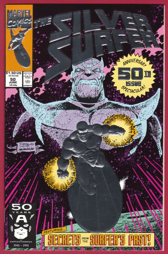 The Silver Surfer #50 (1987 2nd Series) Direct Market 1st Edition