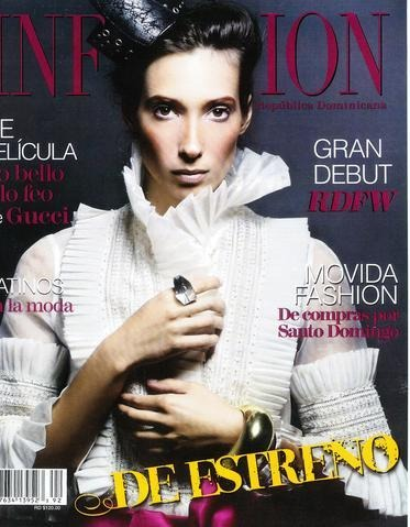 Infashion Magazine 2008 - Erika Peña