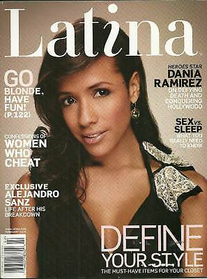 Latina February 2008 Magazine - Erika Peña