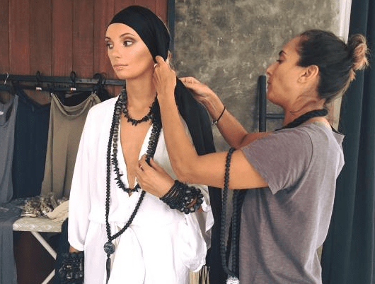 Fun Behind the Scense of Shooting TOA Collection in Bali - Erika Peña