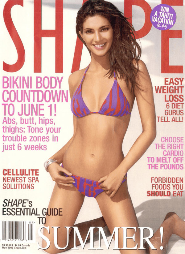 Shape Magazine May 2005 - Erika Peña