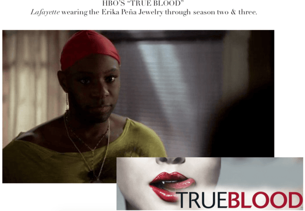 HBO's True Blood - Lafayette Reynolds (Nelsan Ellis) June 2009 - Erika Peña