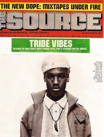 The Source Mix Tape March 2007 Newspaper - Erika Peña