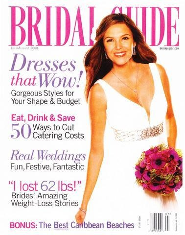 Bridal Guide July - August 2008 Magazine - Erika Peña