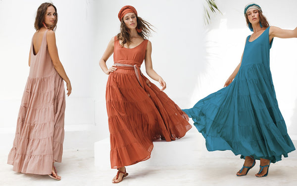 HOW TO WEAR - CARMEN RUMBA MAXI DRESS - Erika Peña