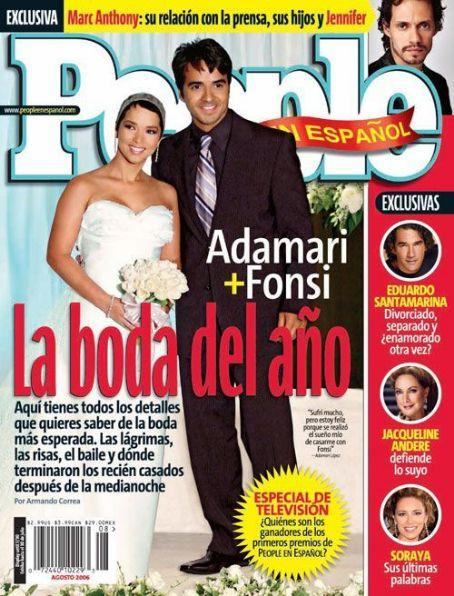 People en Español August 2006 Magazine - Erika Peña