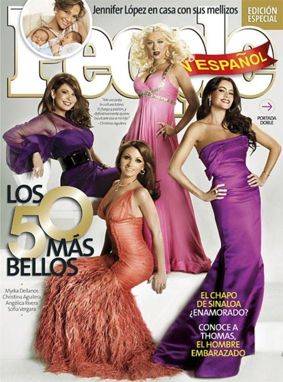 People Español June 2008 Magazine - Erika Peña