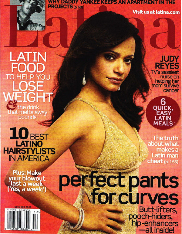 Latina Magazine October 2007 - Erika Peña