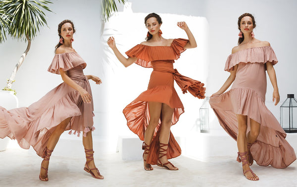 HOW TO WEAR - RIHANNA ISLA HIGHLOW DRESS - Erika Peña