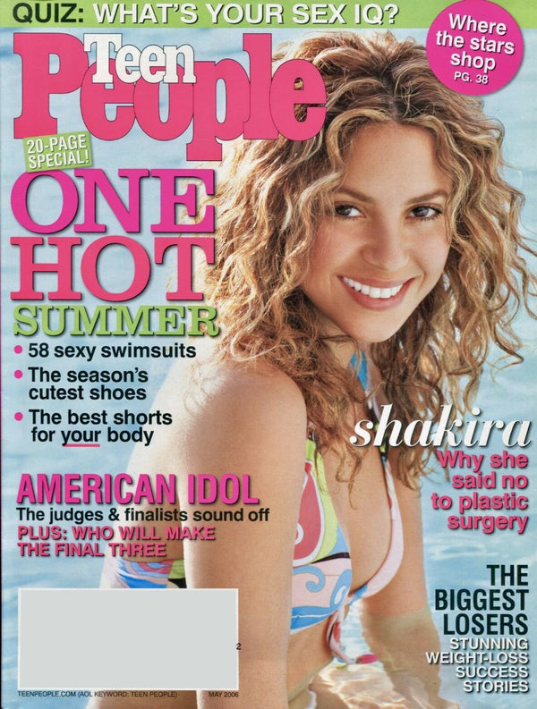 Teen People Fashion May 2006 Magazine - Erika Peña