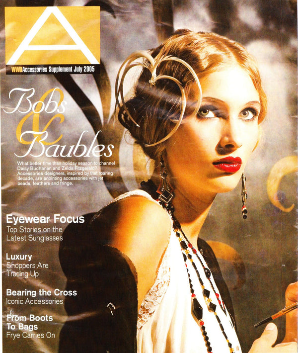 WWD Accesories Magazine July 2005 - Erika Peña