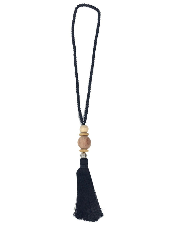 GILLIGAN SHORT TASSEL NECKLACE - Erika Peña