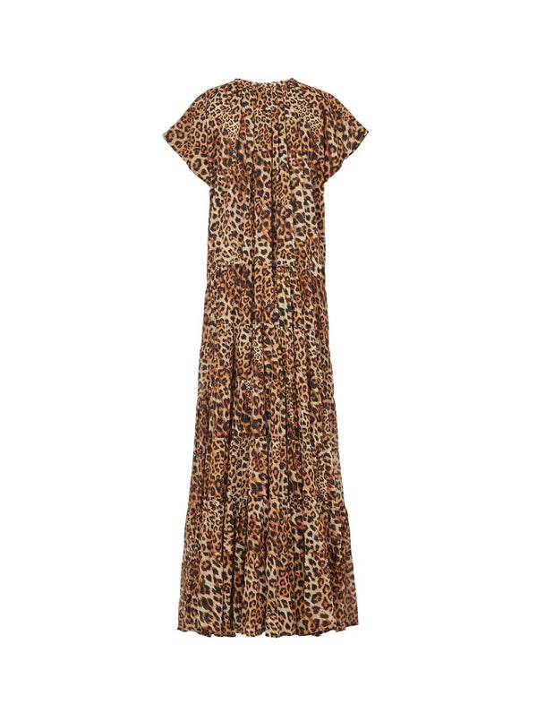 ADELLA RIMBA ANIMAL MAXI DRESS - Erika Peña