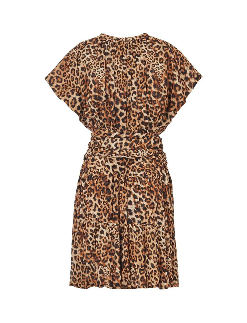 ADELLA RIMBA ANIMAL MIDI DRESS - Erika Peña