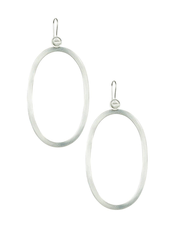 Anastasia Oval Earrings - Erika Peña
