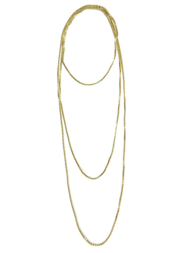 SADIE CHAIN LONG NECKLACE - Erika Peña