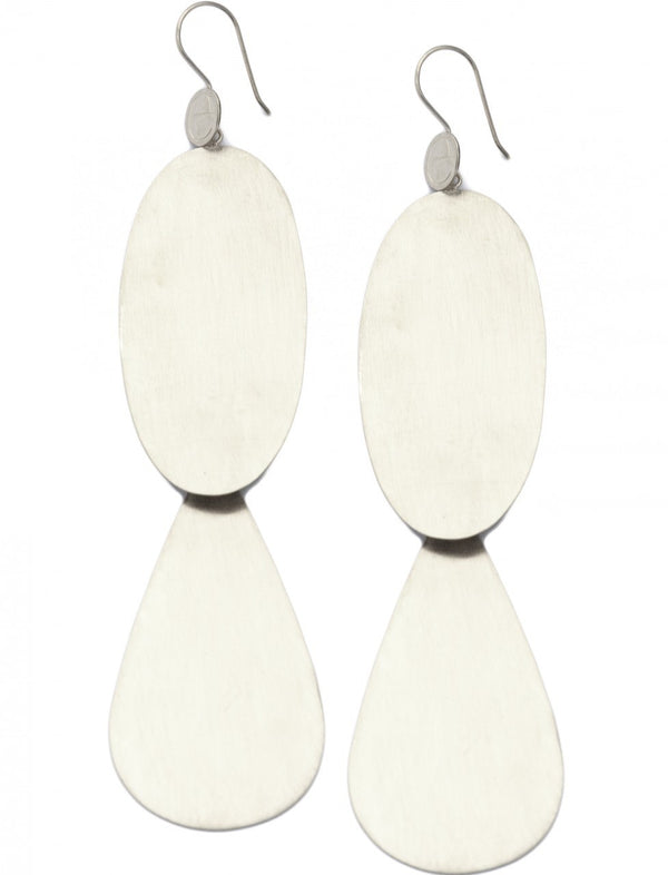 Candelara Earrings - Brushed - Erika Peña