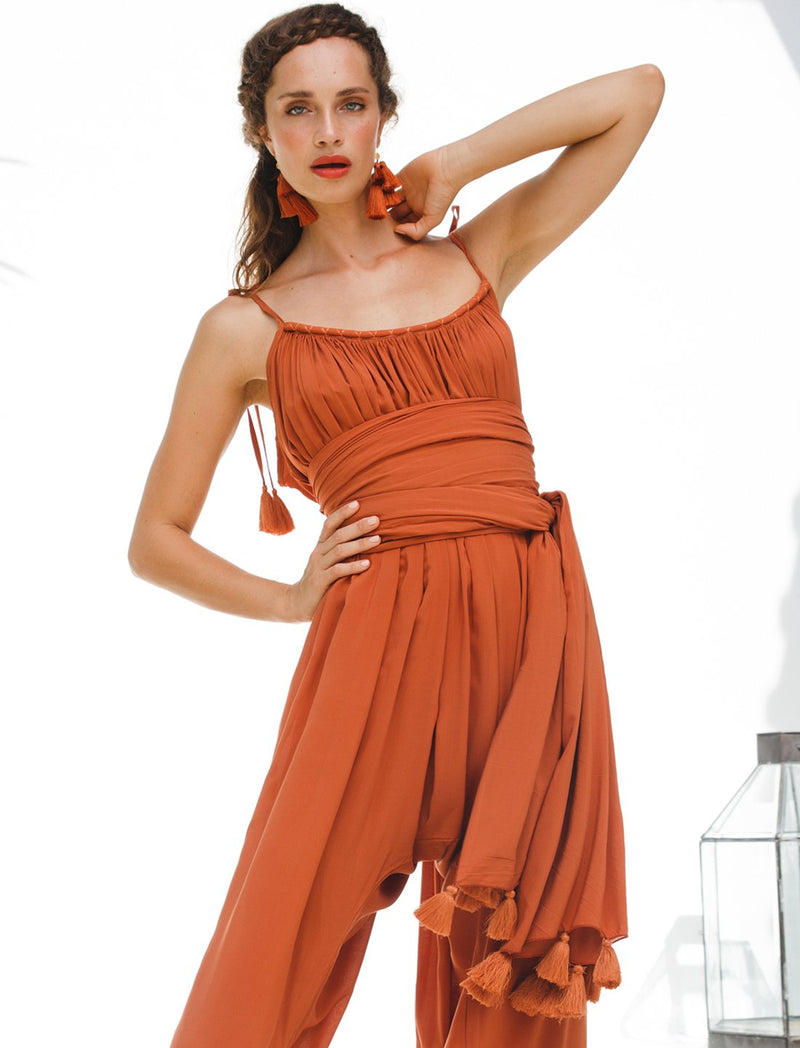 Veruschka Isla Jumpsuit 3-Pieces Bundle - Erika Peña