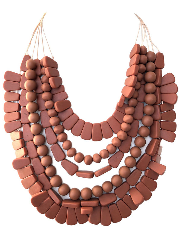 LAIA LAYERED NECKLACE - Erika Peña