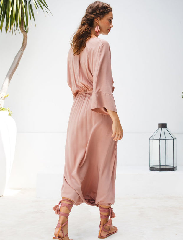 VERO ISLA JUMPSUIT + ISLA TASSEL BELT + FREE SILVIA EARRINGS - Erika Peña