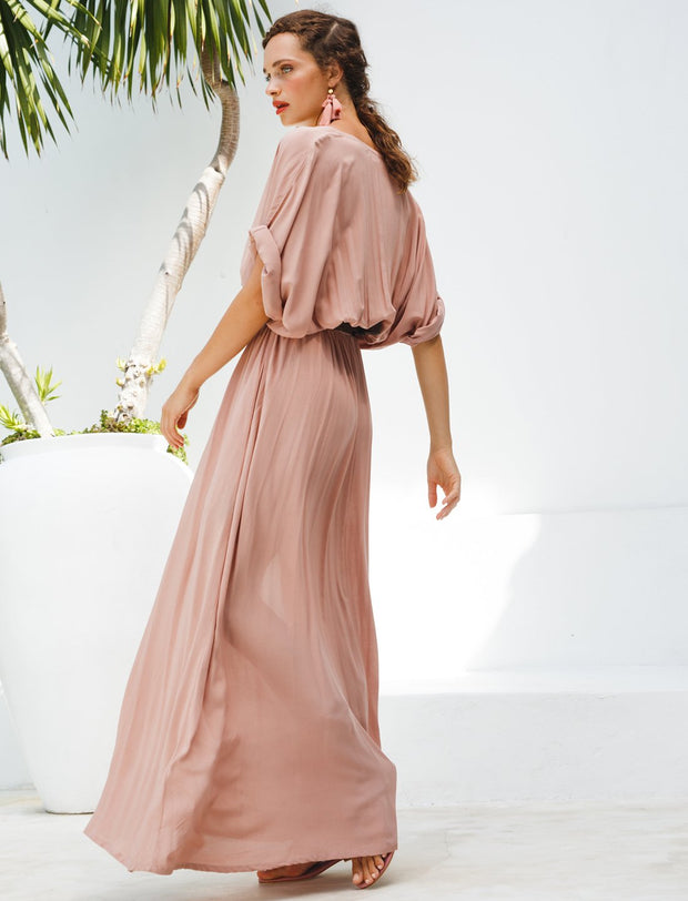 VERO ISLA MAXI DRESS + ISLA TASSEL BELT + FREE ANA EARRINGS - Erika Peña