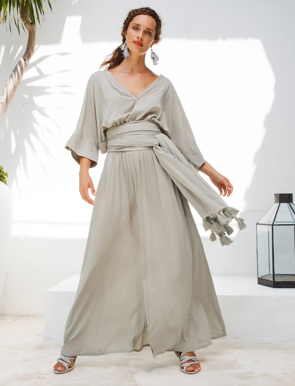 VERO ISLA MAXI DRESS - Erika Peña