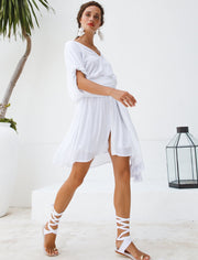 VERO ISLA SHORT DRESS + ISLA TASSEL BELT + FREE ANA EARRINGS - Erika Peña