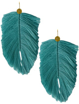 LANI FEATHER EARRINGS - Erika Peña