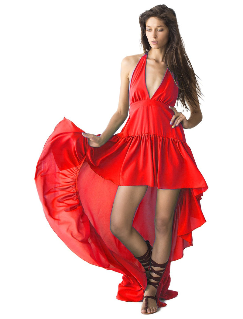 Rayon Marina Flowing Dress - Erika Peña