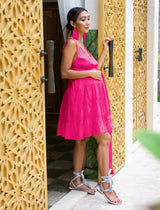 CARMEN MATERNITY SHORT DRESS - Erika Peña