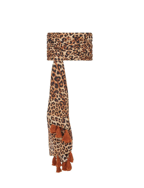 RIMBA ANIMAL TASSEL BELT - Erika Peña