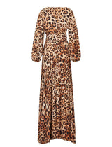 SAHARA RIMBA ANIMAL WRAP DRESS - Erika Peña