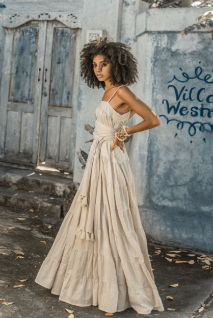 A Rumba Bata Long Dress