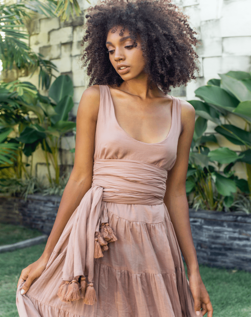 A Rumba Singlet Tank Short Dress