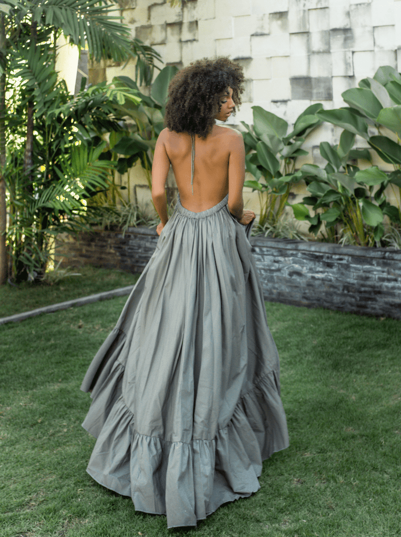 Rayon Marina Long Dress - Erika Peña