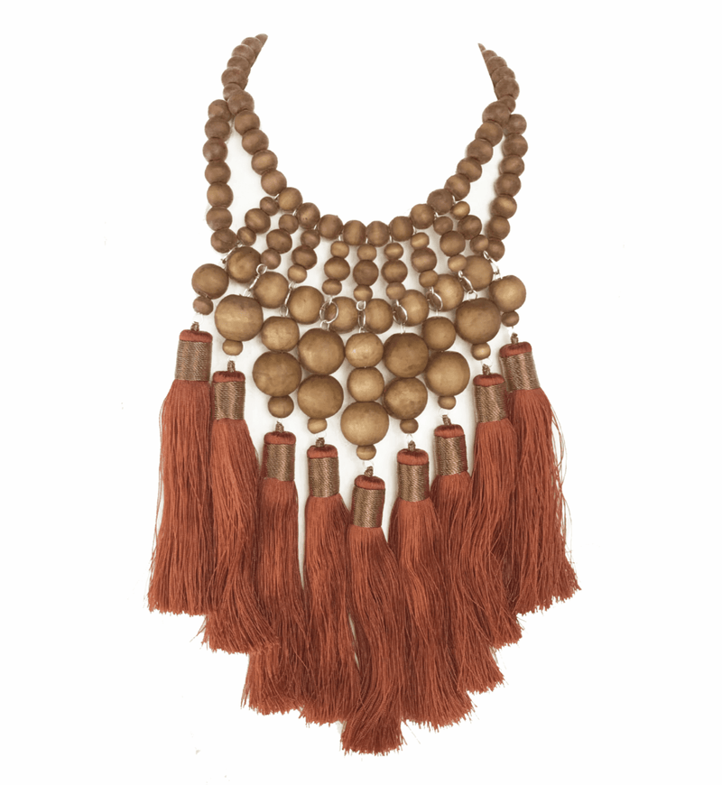 Wuru Multi Tassel Necklace - Erika Peña