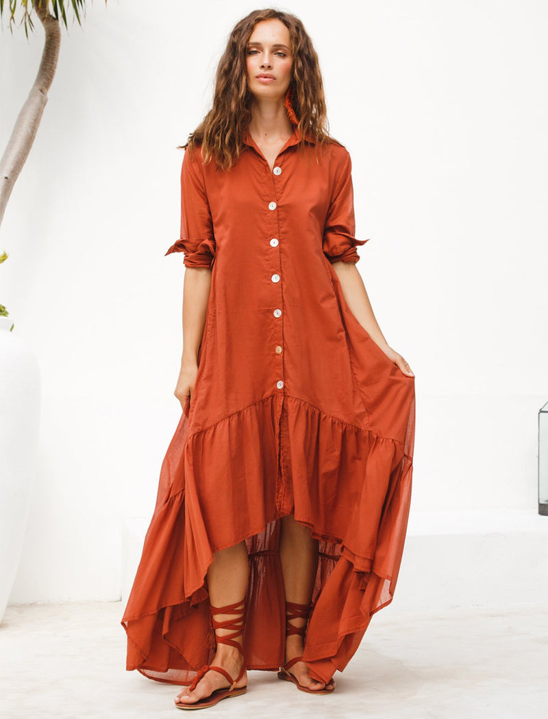 Eva Rumba Shirt Dress Mommy - Erika Peña