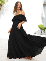 RITA RUMBA MAXI DRESS 3-PIECE BUNDLE - Erika Peña