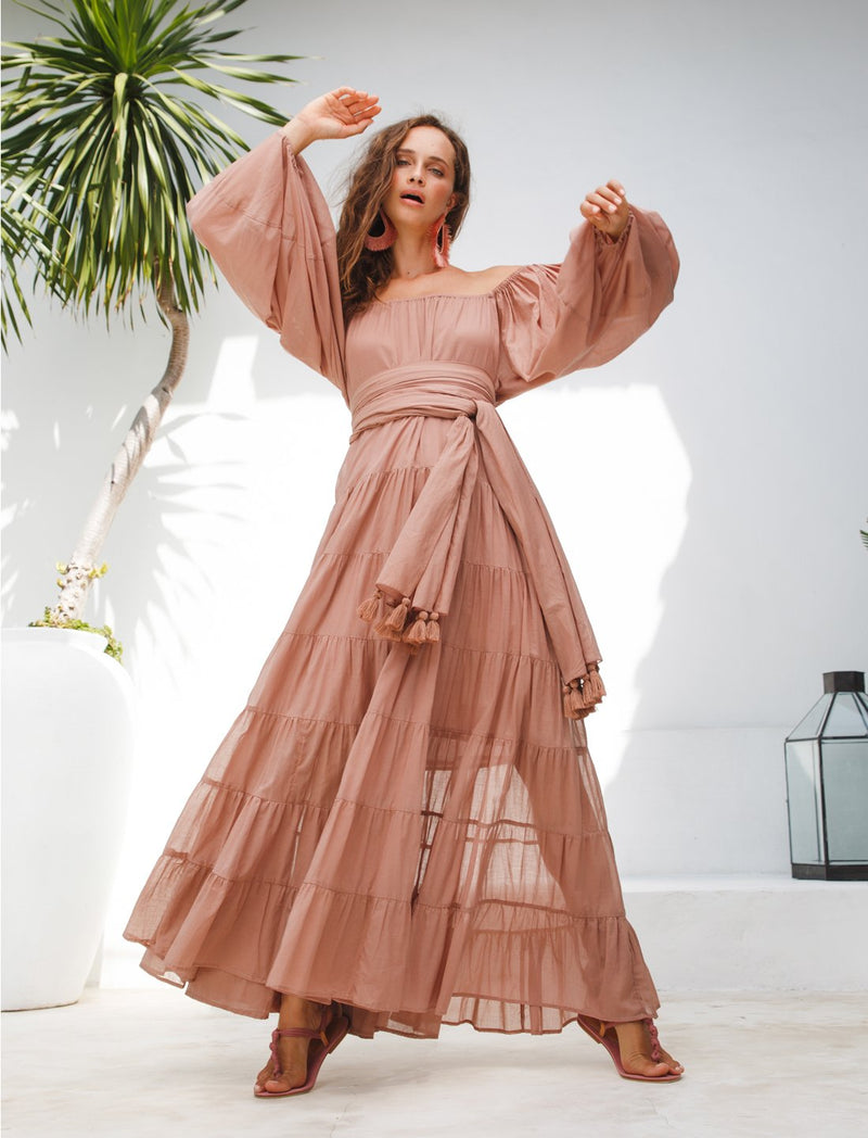 BRIELLE RUMBA MAXI DRESS - Erika Peña