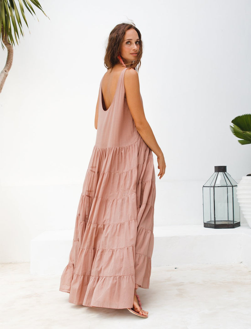 CARMEN RUMBA MAXI DRESS - Erika Peña