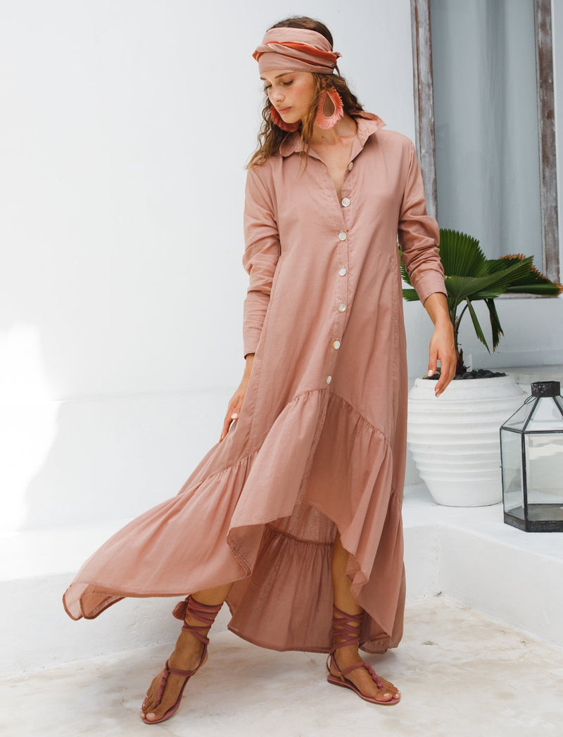 EVA RUMBA SHIRT DRESS - Erika Peña