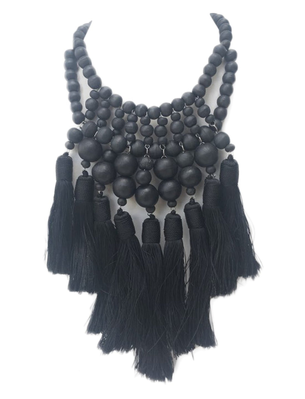 Wuru Multi Tassel Necklace