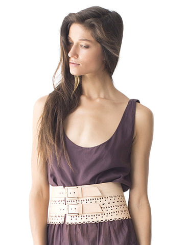 Laser Cut Mini Corset Belt