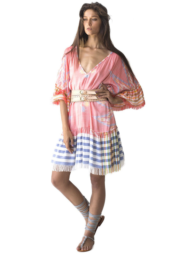 Ikat Margarita Short Dress