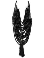 Mona Isla Necklace with Ali Tassel Necklace - Erika Peña