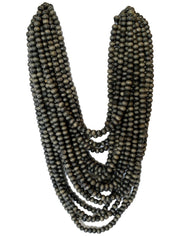 Mona Isla Layered Necklace with Sans Long Necklace - Erika Peña