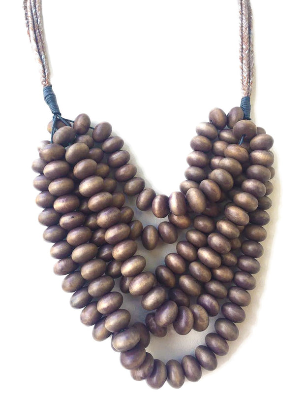 OBAD MULTI LAYERED NECKLACE - Erika Peña