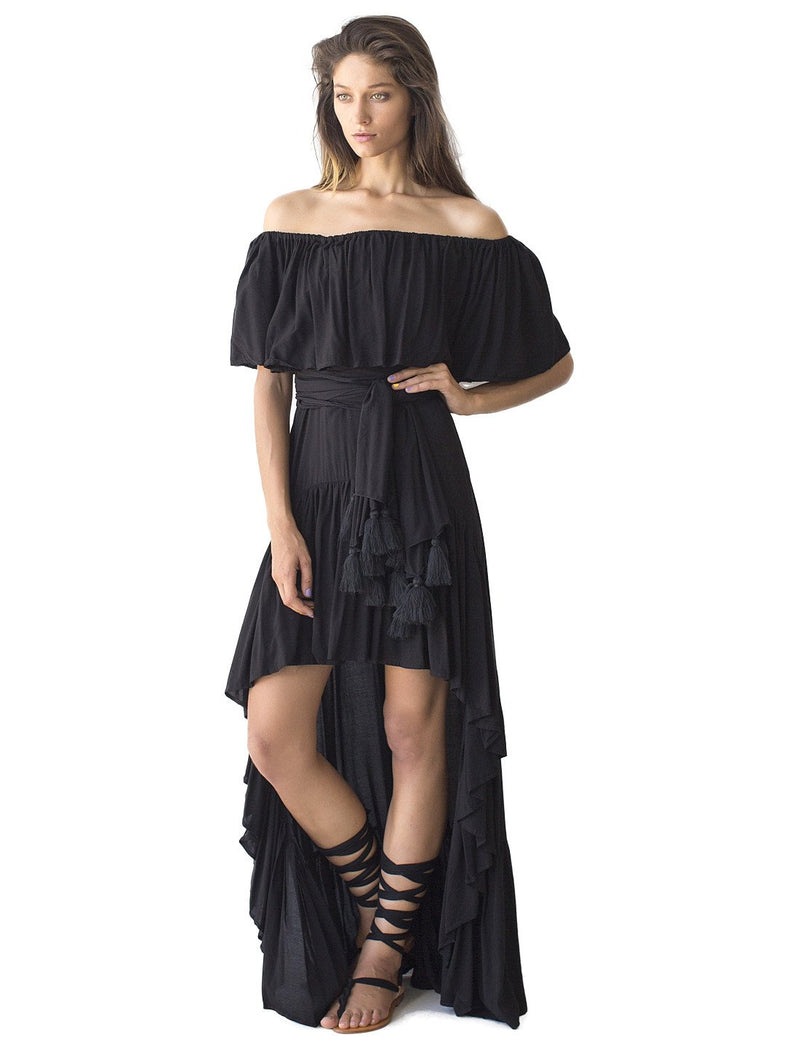 Rayon Rita Flowing Dress - Erika Peña