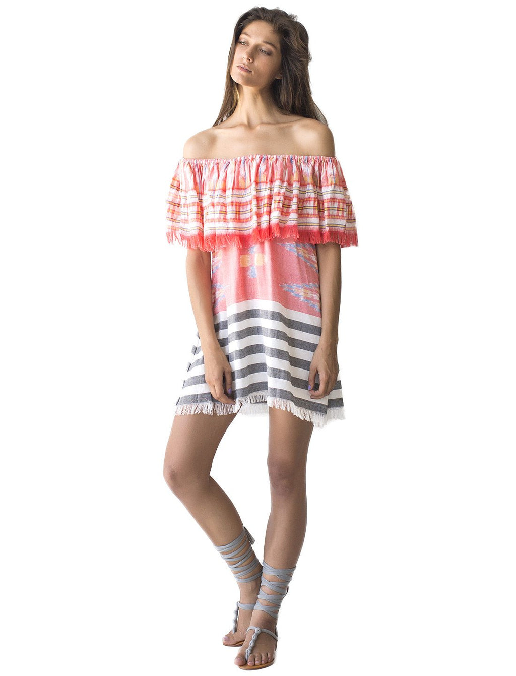 Ikat Rita Shirt Dress
